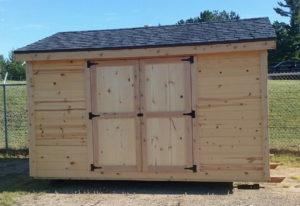We build and deliver custom built sheds.